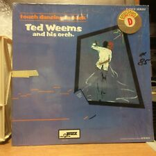 Ted Weems and his Orchestra Touch Dancing Is Back LP International Jazz VG+