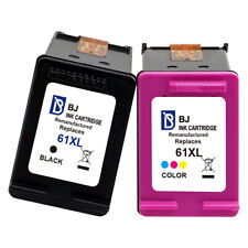 61 XL Black & Color Ink Cartridge For HP Deskjet 1000 1010 1012 3510 3511 2050