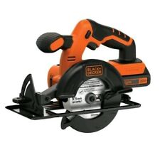 Cordless Power Circular Hand Saw With Battery & Charger Blade Guide Tool 20 Volt