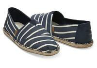 TOMS Classic Stripe Shoes UK 6/7/8.5/9/10/11/12/13 | 100% GENUINE Free Delivery