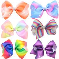 New Fashion Women Girls Big Bowknot Ribbon Hairband Headband Big Bow Hair Clip Z