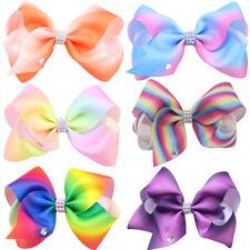 Fashion Women's Girls Big Bowknot Ribbon Hairband Headband Big Bow Hair Clip