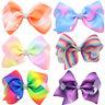 Fashion Women Girls Big Bowknot Ribbon Hairband Headband Big Bow Hair Clip  O