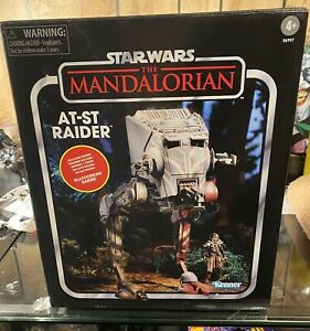 Hasbro Star Wars Vintage Collection AT-ST Raider From The Mandalorian.
