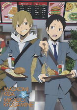 poster promo DuRaRaRa anime Kida Masaomi Ryugamine Mikado DRRR Narita Ryougo