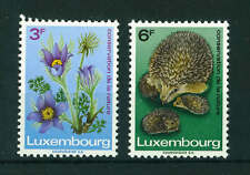 Luxembourg 1970 Nature Conservation Year full set of stamps. MNH. Sg 852-853