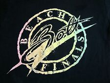 Vintage Beach Bolt Finals College University Marathon Running Fun Run T Shirt S