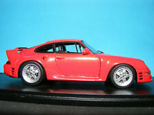 Porsche RUF CTR 2  Sport 1996 in Racing Red  NLA Very Rare Spark model.