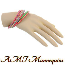 1 Female mannequin hand, life size S -1 display right hand -T