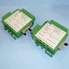 PHOENIX CONTACT DIGITAL ANALOG CONVERTER MCR-DAC8/I-4/BUS *LOT OF 2*