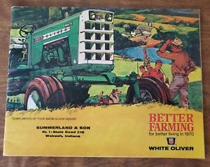 1970 White Oliver Tractor Corporation Better Farming Full Line Buyers Guide MINT