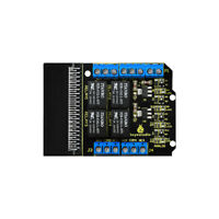 KEYESTUDIO 4 Channel Relay Breakout Shield Module for BBC Micro:Bit MicroBit