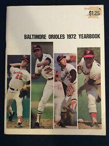 Baltimore Orioles 1972 Yearbook ~Vintage~  M1476