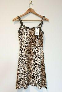 SEED HERITAGE | OCELOT DRESS SIZE 12 14 GIRLS TEEN | animal print |BNWT RR$59.95