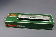 Y758 Lima train ho 2905 wagon citerne bogie Kuhlmann SNCF 504369 Blanc 119 mm