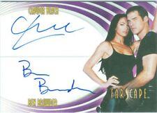 Farscape Through The Wormhole Dual Autograph Card DA1 Black / Browder