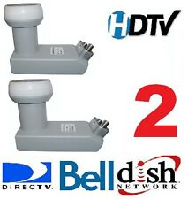 2 X   DSS SQUARE LNB DISH NETWORK BELL DIRECTV FTA SATELLITE LNBF 11250