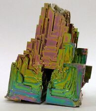Bismuth Tower Beautiful Unique One of a Kind Display Hand Made USA Rainbow 4
