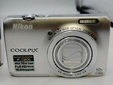 Nikon COOLPIX S6300 16MP Digital Camera with Charger and Box
