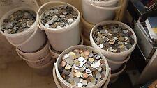 lot   9 kg de monnaie ANCIENNE ETRANGERE  ( 1 )