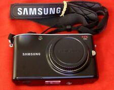 Samsung NX NX100 14.6MP, Interchangeable Lenses, Digital Camera Body Only, Black