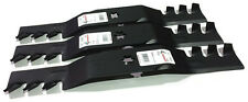 EXTREME Mulch Blades Set of 3 i1050 RZT50 SLT1050 LTX1050 ZTT50 R12809 READ NOTE