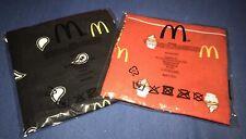 McDonalds Bandanna Rot & Schwarz, Limitiert 2019 Geschenk, Komplett