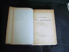 La philosophie de Saint Bonaventure par Etienne Gilson - Lib. J. Vrin 1924