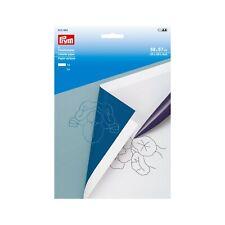 Carta trasferibile PRYM 2 fogli 610464 x tessuto lana ceramica pelle legno gesso
