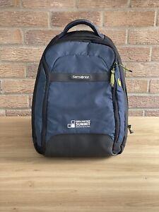 Samsonite BLaptop Backpack 🎒Rucksack Bag Shoulder Bag Lots Of Space In VGC BLUE