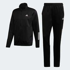 Adidas Originals Mens Fabric Mix Tracksuit black