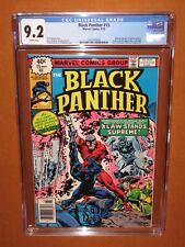 BLACK PANTHER #15 CGC 9.2 (it looks better!) WHITE pages 12 pix Combined Shippng