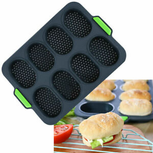 Silicone Cake Bread Loaf Pan Tins Non-stick Soap Baking Mould Bakeware Tray UK