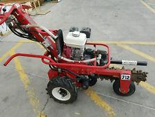 Barreto Hydraulic Trencher E712-Mt self propelled. Commercial grade