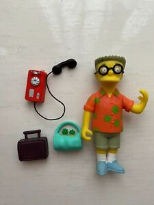 PLAYMATES INTERACTIVE THE SIMPSONS SERIES 10 RESORT WAYLON SMITHERS FIGURE WOS