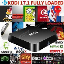 XGODY 4K M8S PLUS Media Player KODI 17.1 Quad Core Android 6.0 Smart TV Box WIFI