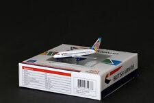 "British Airways B 737-236 1:400 Reg:G-BGDR Diecast ""Colum-Ireland""tail AV4732002"