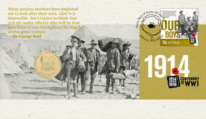 ANZAC 2014 $1 COIN WWI CENTENARY PNC - Limited Edition 14,500 Only