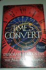 TIMES CONVERT BY DEBORAH HARKNESS SIGNED