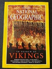 National Geographic Magazine May 2000 In Search of Vikings Mount St Helens