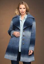 NWT Roaman's Plus Size Women's Ombre Coat 16W Blue Faded - HUGE WINTER DISCOUNT