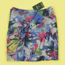 Silk Party Floral Skirts for Women