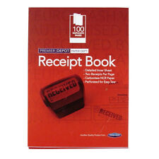 Receipt Book Carbonless - 200 Receipts, Perforated – Size 145mm x 105mm