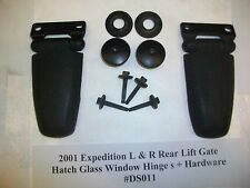 RUST FREE 2001 Ford Expedition Rear Liftgate Hatch Glass Window Hinge s R & L>