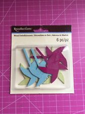 Pinwheels Wood Embellishments By Recollections