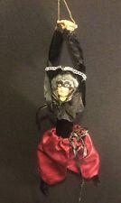 "Katherine's Collection Wayne Kleski Retired Masquerade 10"" Ornament Red"