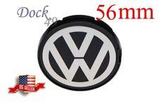 1 NEW VW VOLKSWAGEN WHEEL RIM CENTER HUB CAPS FOR BEETLE JETTA CABRIO GOLF 56MM