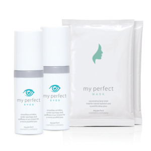 HOT 2 x Bottles of My Perfect Eyes with FREE Sheet Masks (3 Pack) FREE SHIPPING