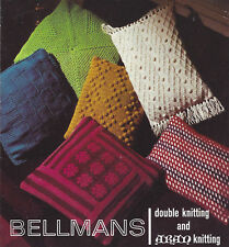 CROCHET  & KNITTING CUSHION PATTERNS FOR THE HOME UNUSUAL GIFT (1560)