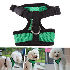 Pet Control Harness for Dog & Cat Soft Mesh Walk Collar Safety Strap Vest GreenL
